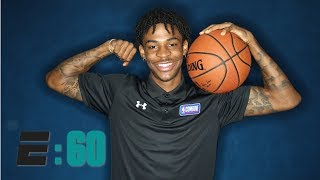How a bag of chips and a tractor tire helped Ja Morant become an NBA lottery lock | E:60