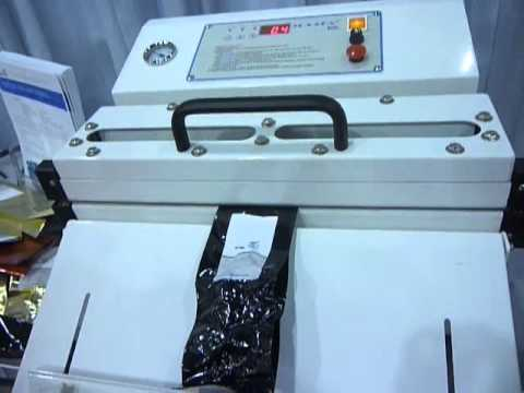 WVT-455 Vacuum Sealer for Foil Gusseted Bags WVT-455T Vacuum Sealer for Sealing Foil Gusseted Bags (coffee bags)