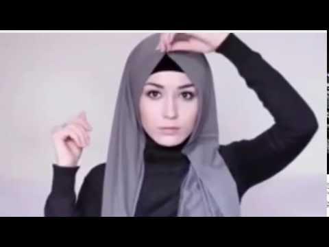 Video Tutorial Hijab Cara Memakai Jilbab Lebaran Simpel dan Elegan 2015