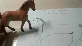 Рисунок на конкурс каналу КСК_Black_Horse