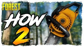 The Forest | HOW TO FIND THE CHAINSAW | Updated Location