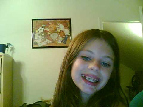 Girl thinks shes takin webcam pics lol