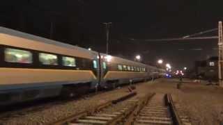 EJ 680.001 jako vlak SC 502 SC Pendolino - Ostrava - Olomouc - Praha