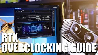 How to overclock the RTX 2080 and RTX 2080Ti
