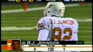 BJ Johnson's record-setting career as a Texas Longhorn