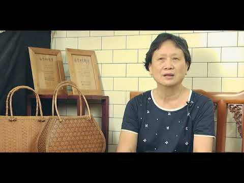 臺中市第二十一屆大墩美展 工藝類得獎感言 黃秀寧女士