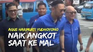 Video Momen AHY Naik Angkot saat Kunjungi Mal di Manado