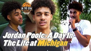Jordan Poole: A Day in The Life at Michigan