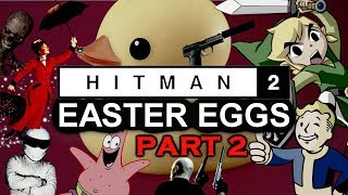 HITMAN 2 All Easter Eggs And Secrets | Part 2