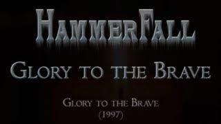 HammerFall - Glory to the Brave (Lyrics English & Deutsch)