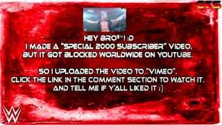 Custom WWE RAW Intro 2014 - (2000 Subscriber Special) [HD]