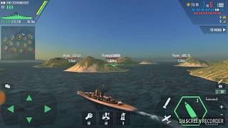 Battle of war ship