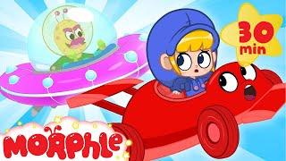 Alien Racecar! - My Magic Pet Morphle | Cartoons For Kids | Morphle TV | BRAND NEW