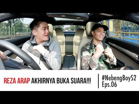 #NebengBoy S2 Eps. 6 - Reza Arap buka suara!!! Boy William shock!