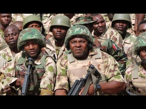 Nigeria army combat skills