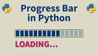 How To Add A Progress Bar In Python With Just One Line - Python Tutorial