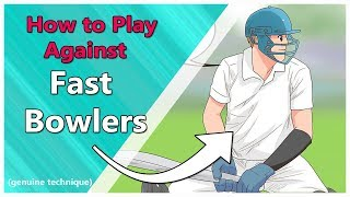 How to play against fast bowlers |Batting tips| Cricket|