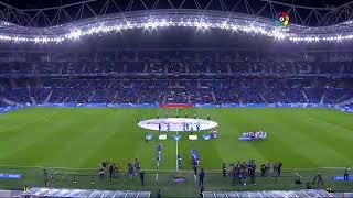 Calentamiento Real Sociedad vs Real Valladolid CF