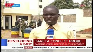 Developing: Taita Taveta Governor Samboja grilled over Conflicts, Insecurity at DCI