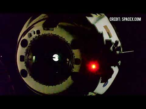 SpaceX Crew Dragon Endeavour's separation/undocking from ISS to return NASA astronauts to Earth