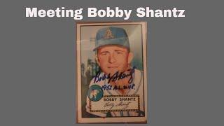Bobby Shantz Meet. 1952 AL MVP