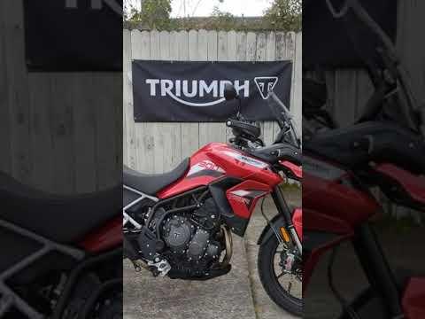 2021 Triumph Tiger 900 GT in Charleston, South Carolina - Video 1