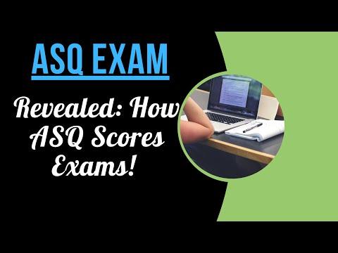 Six Sigma Black Belt Exam (ASQ Scoring Method) - YouTube
