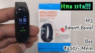 M3 Intelligence Bluetooth Health Wrist Smart Band Watch Monitor/Smart Bracelet
