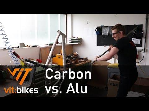 Carbon vs. Alu! der Test! - vit:bikesTV 137