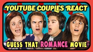YOUTUBE COUPLES REACT TO GUESS THAT MOVIE CHALLENGE - dooclip.me