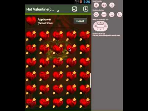 Video of Hot Valentine Apex / Go Theme