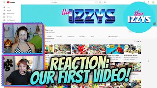 The Izzys Reacts to their FIRST VIDEO EVER
