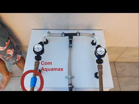 Como o Aquamax diferencia ar de água