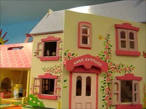 Casa Bambole in legno - Big Cottage - www.giochiecologici.it