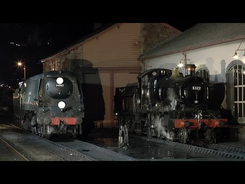 Visiting Locomotives at the West Somerset Railway Spring Ste…
