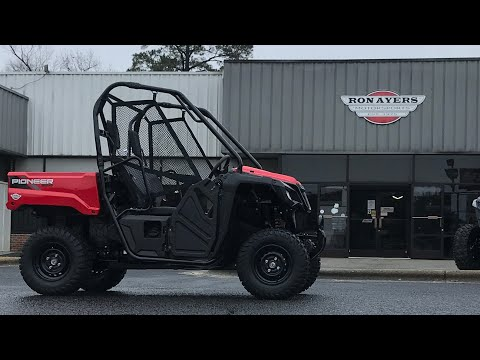 2021 Honda Pioneer 520 in Greenville, North Carolina - Video 1