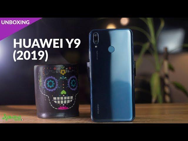HUAWEI Y9 (2019) llega a MÉXICO, UNBOXING, primeras impresiones y PRECIO OFICIAL
