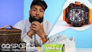 10 Things Odell Beckham Jr. Can't Live Without | GQ Sports