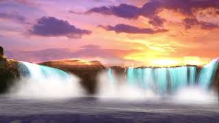 Relaxing Music with Fantasy Waterfall🦄🌊