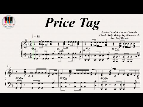 Price Tag Jessie J Ft Bob Piano Cover Hd Marcus Jakobsen