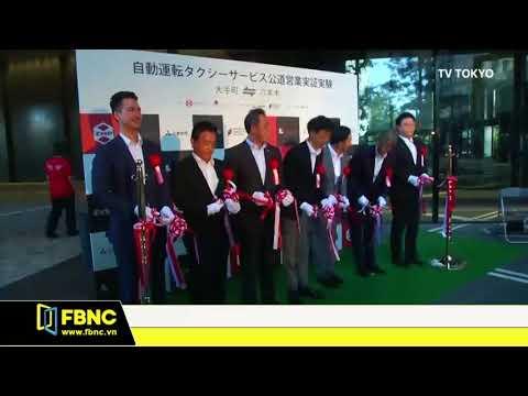 Nhật Bản thử nghiệm taxi tự động, chuẩn bị cho Olympics 2020