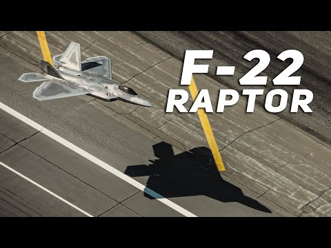 Ever Wonder What the Lockheed Martin F-22 Raptor Can Do?
