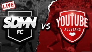 SIDEMEN FC VS YOUTUBE ALLSTARS LIVESTREAM