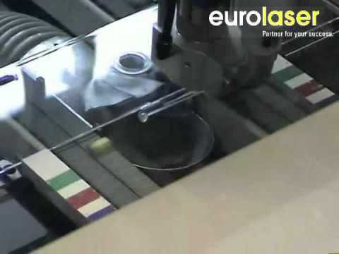 Automated sprue removal | Laser cutting