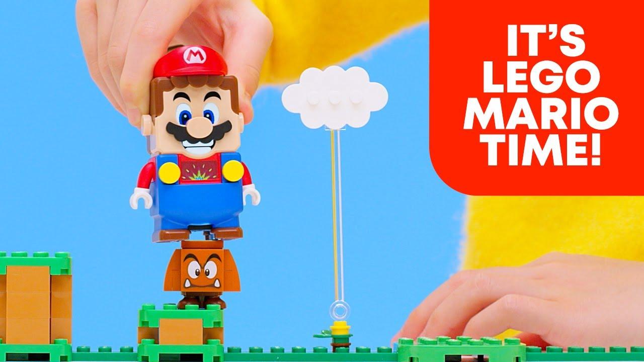 LEGO Super Mario's adventures begin! - YouTube