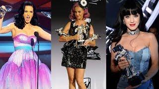 Katy Perry Winning Awards Compilation