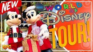 NEW World Of Disney Store! Disneyland Christmas 2018 Merchandise!