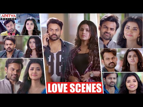 Sai Dharam Tej Anupama Love Scenes | Hindi Dubbed Movies