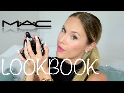 My 14 MAC LIPSTICKS | TRY-ON LOOKBOOK