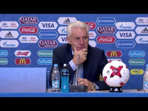 CMR v AUS - Hugo Broos - Cameroon Post-Match Press Conference